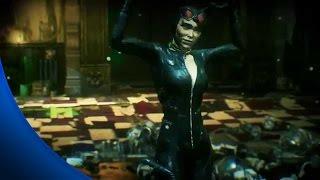 getlinkyoutube.com-Batman Arkham Knight - All Riddler Riddles to Rescue Catwoman - Riddler Revenge