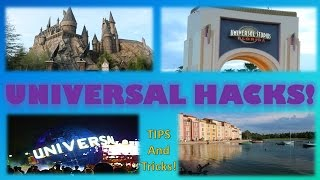 Universal HACKS! | Tips and Tricks for Going to Universal Orlando Theme Park