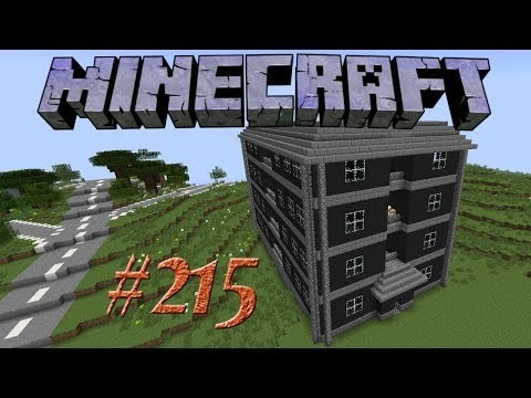 Let's Build - Minecraft #215 - Trainsurfing