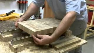 getlinkyoutube.com-Изготовление торцевой разделочной доски