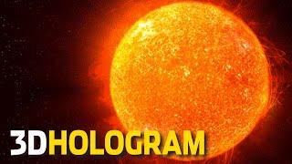 getlinkyoutube.com-3D Hologram: A Tour Of The Solar System - 3D Hologram Projector