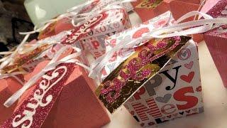 Valentine Treat Boxes ~ A Cricut Design Project