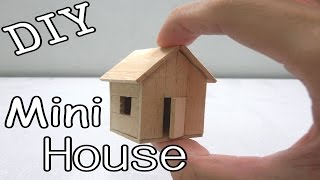 getlinkyoutube.com-DIY Mini House #5 (Popsicle Stick)