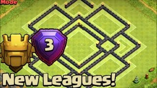 getlinkyoutube.com-Clash of Clans UPDATE TH9 TITAN/ LEGEND LEAGUE BASE ♦ x2 Air Sweeper ♦ Dark Spell Factory