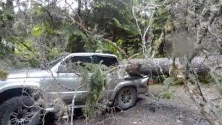 getlinkyoutube.com-海外で信じられない事故に遭ったトヨタ車!衝撃の光景の後、更に驚愕の結果が・・・