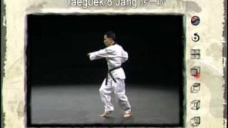 8ο Πούμσε: Τάεγκουκ Παλ Τζανγκ (Poomsae Taeguek Pal Jang)