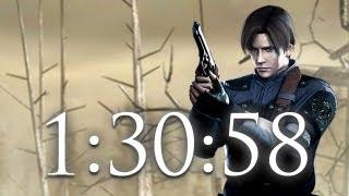 getlinkyoutube.com-RE4 Speed Run 1:30:58 PS3 HD