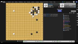 Creator's Invitational 2015 - game vs. Mark Lee (10D) - ASR manager Guillaume D. (4D CGA)