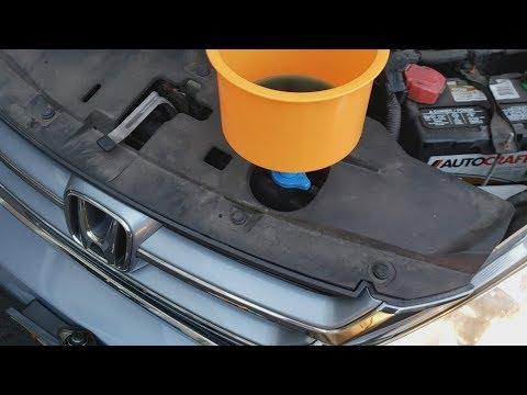 Отзывная кампания Honda, подушка безопасности, антифриз, масло