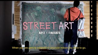 getlinkyoutube.com-STREET ART // ARYZ X FINERATS