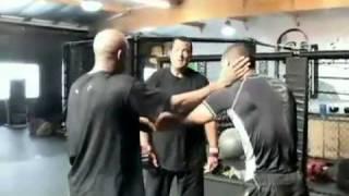 getlinkyoutube.com-Anderson Silva training with Steven Seagal