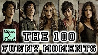 getlinkyoutube.com-The 100 CW Funny Moments Crack Humor Pt:1