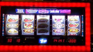 getlinkyoutube.com-Kickapoo casino,  1million degrees slot, Win! :)