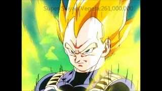 getlinkyoutube.com-Dragon Ball Z Movie #6 Return of Cooler Power Levels