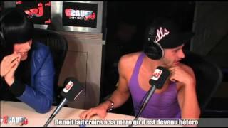 getlinkyoutube.com-Benoit fait croire à sa mère qu'il est hétéro - C'Cauet sur NRJ