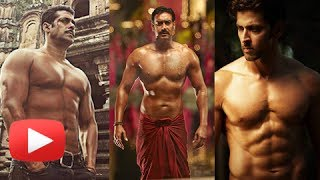 getlinkyoutube.com-Salman, Hrithik, Ajay Devgan Hot Shirtless Heroes Of Bollywood