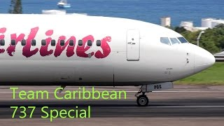 getlinkyoutube.com-Epic !!!! Boeing 737 Special from Team Caribbean (HD 1080p)