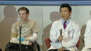 getlinkyoutube.com-عملِ پیوندِ دو بازو بر بدن یکی از سربازان سابق ارتش...