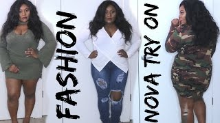 Plus Size Fashion Nova Winter Spring Transition Haul + Try On