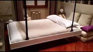 getlinkyoutube.com-Soluzioni salva spazio - letti a scomparsa nel soffitto Bed Up Down