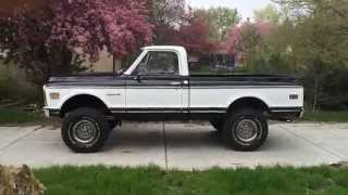 1971 Chevy Short Bed K10 4x4 BBC - For Sale