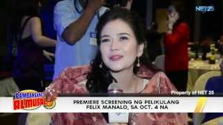 FELIX MANALO GRAND PRESS CONFERENCE NET25 PAMBANSANG ALMUSAL Showbiz News