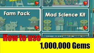 getlinkyoutube.com-Growtopia #26 How to Use 1,000,000 Gems