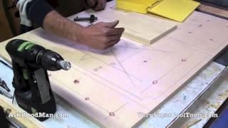 getlinkyoutube.com-14 of 27: Layout Of 20mm Multi-Function Holes -- DIY Biesemeyer Style Guide Rail Series