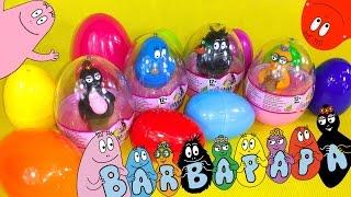 getlinkyoutube.com-13 Surprise Eggs Barbapapa  - barbapapa eggs unboxing eggs unboxing barbabelle by TheSurpriseEggs