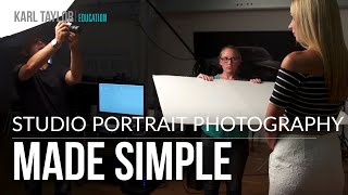 getlinkyoutube.com-A Simple 2 Light Portrait Set-Up with Karl Taylor