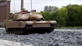 getlinkyoutube.com-Hobby Engine RC 1:16 Abrams M1A2