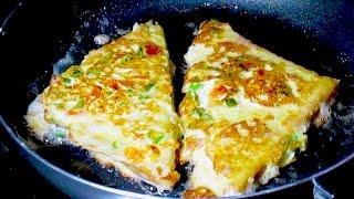 Tost sa jajima i sirom