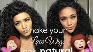 getlinkyoutube.com-How I make lace wigs look natural | RPGSHOW els133-s