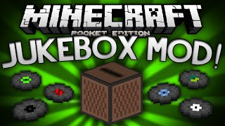 getlinkyoutube.com-JUKEBOX MOD for MCPE!!! - Adds Jukeboxes, Music, and More! - Minecraft Pocket Edition