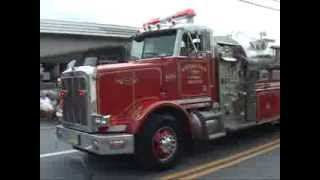 2013 Pen Argyl,pa Fire Department Labor Day Firemens Parade   part 1 of  2