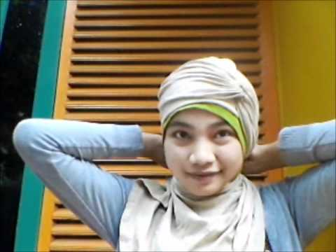 Tutorial hijab turban shawl
