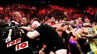 getlinkyoutube.com-Top 10 Raw moments: WWE Top 10, July 20, 2015