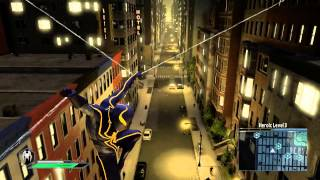 getlinkyoutube.com-The Amazing Spider-Man 2 Video Game - Spider-Armor suit free roam