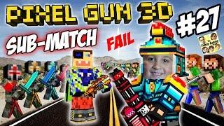 getlinkyoutube.com-Dad & Son play Pixel Gun 3D! %$@CURSE WORDS#!@ FGTEEV vs. SUBSCRIBERS FAIL! (Part 27)