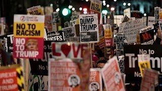 Un millón y medio de firmas en el Reino Unido contra una visita de Donald Trump