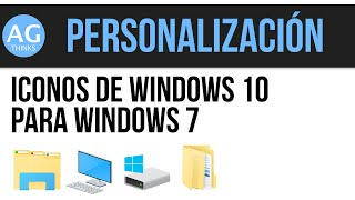 getlinkyoutube.com-Iconos de Windows 10 para Windows 7 (32 y 64 bit) | IconPack Installer
