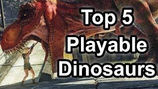 getlinkyoutube.com-Top 5 - Playable dinosaurs in gaming