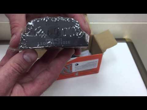 NIBK PN1431 - колодки дисковые задние Toyota Camry