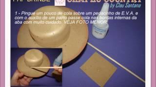 getlinkyoutube.com-PAP Chapéu de EVA