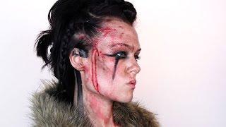getlinkyoutube.com-Vikings: Floki | Makeup Tutorial