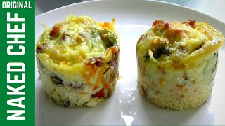 getlinkyoutube.com-How to make EGG MUFFINS breakfast recipe