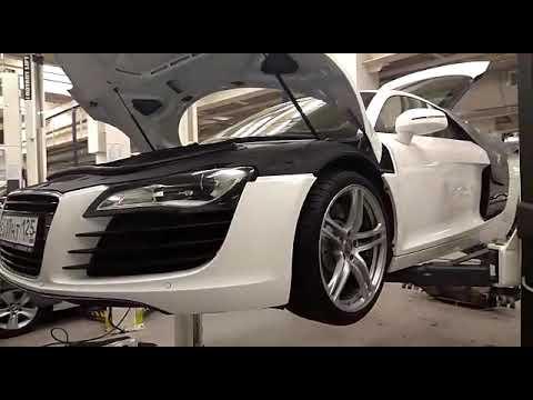 Audi r8 втулки стабилизатора заднего. Замена