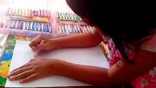 getlinkyoutube.com-Mewarna dengan crayon putih