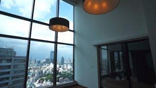 getlinkyoutube.com-ジャグジー付き超高級タワーマンション!シティタワー麻布十番37階2SLDK127.95㎡の室内動画