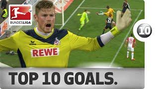 getlinkyoutube.com-Top 10 Strange Goals - 2014/15